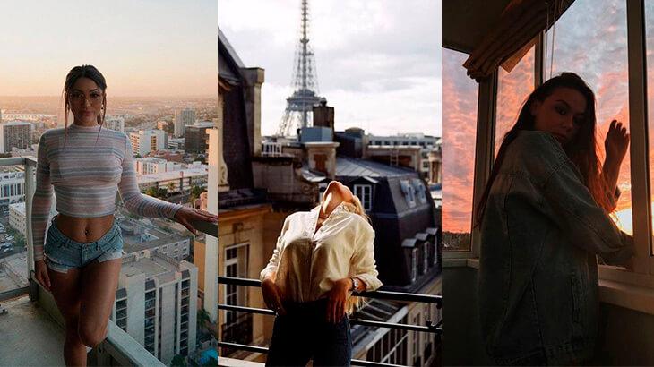 Фото для Инстаграм на балконе